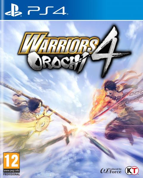 Jaquette Warriors Orochi 4