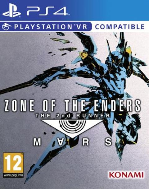 Jaquette Zone of the Enders 2 : The Second Runner - M∀RS