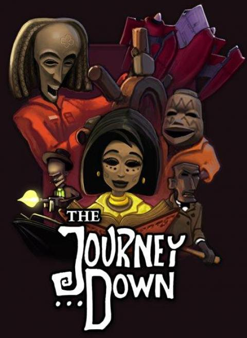 Jaquette The Journey Down