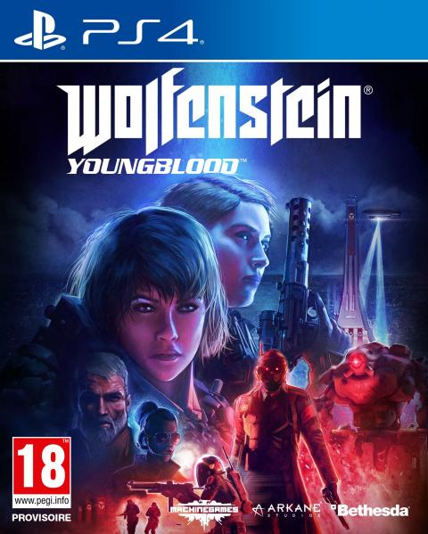 Jaquette Wolfenstein : Youngblood