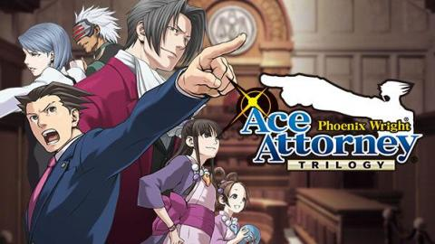 Phoenix Wright : Ace Attorney Trilogy objecte sur consoles et PC