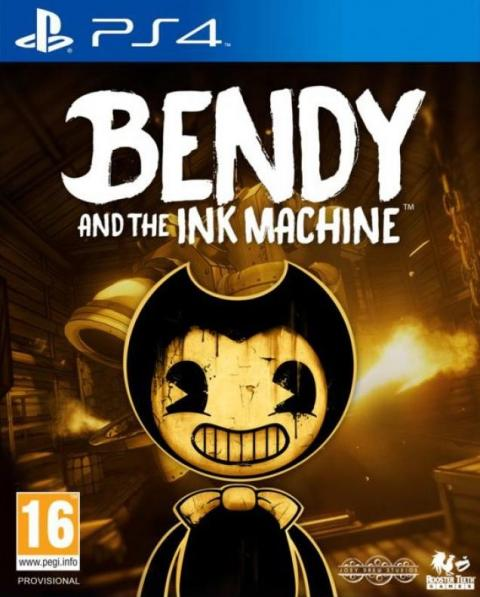 Jaquette Bendy and the Ink Machine
