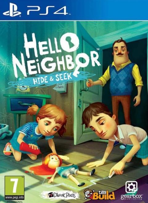 Jaquette Hello Neighbor Hide and Seek