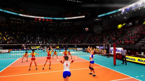 Spike Volleyball illustre sa capture de mouvements