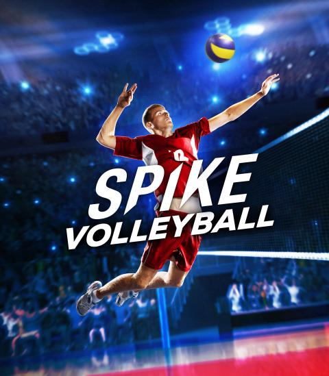Jaquette Spike Volleyball