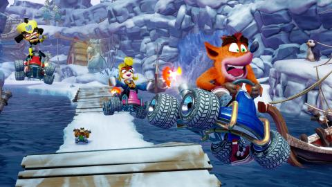Crash Team Racing Nitro-Fueled : le trailer live-action