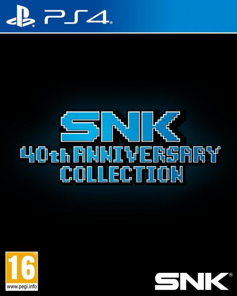 Jaquette SNK 40th Anniversary Collection