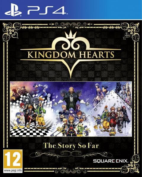 Jaquette Kingdom Hearts - The Story So Far
