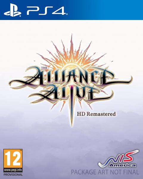 Jaquette The Alliance Alive HD Remastered