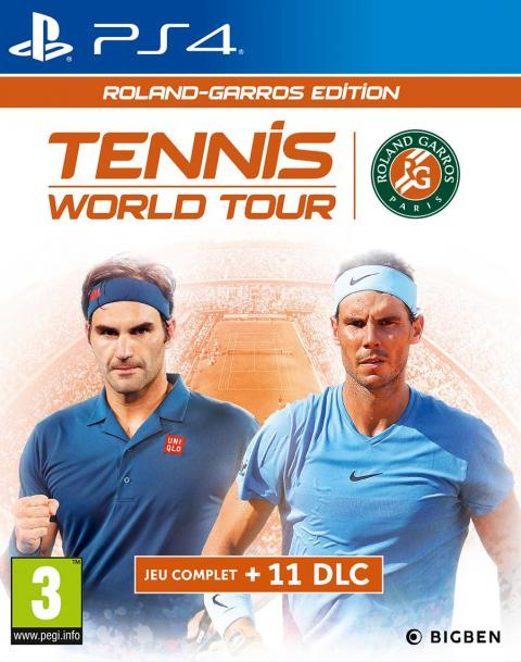Jaquette Tennis World Tour Roland-Garros Edition