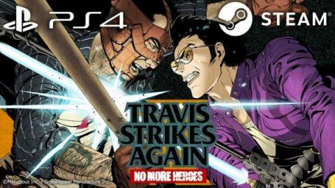 Travis Strikes Again : No More Heroes annoncé sur PS4 et Steam