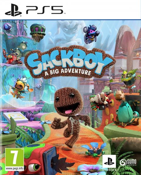 Jaquette Sackboy : A Big Adventure