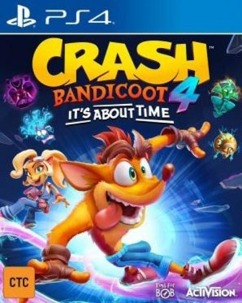 Jaquette Crash Bandicoot 4 : It's About Time