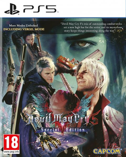 Jaquette Devil May Cry 5 Special Edition
