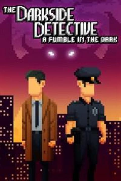 Jaquette The Darkside Detective : A Fumble in the Dark