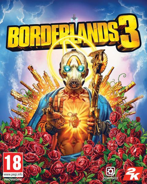 Jaquette Borderlands 3
