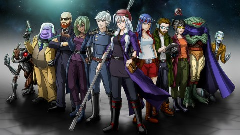 Cosmic Star Heroine : une date d'atterrissage sur Switch