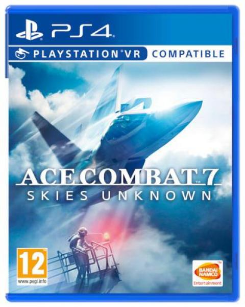 Jaquette Ace Combat 7: Skies Unknown