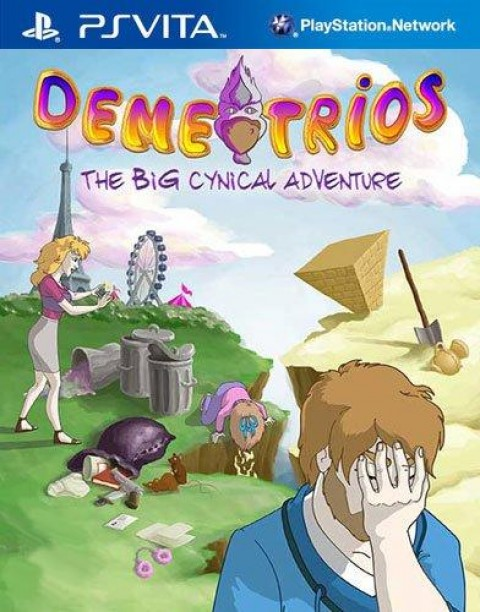 Jaquette Demetrios The BIG Cynical Adventure