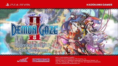 Demon Gaze II : trailer Unearth Asteria