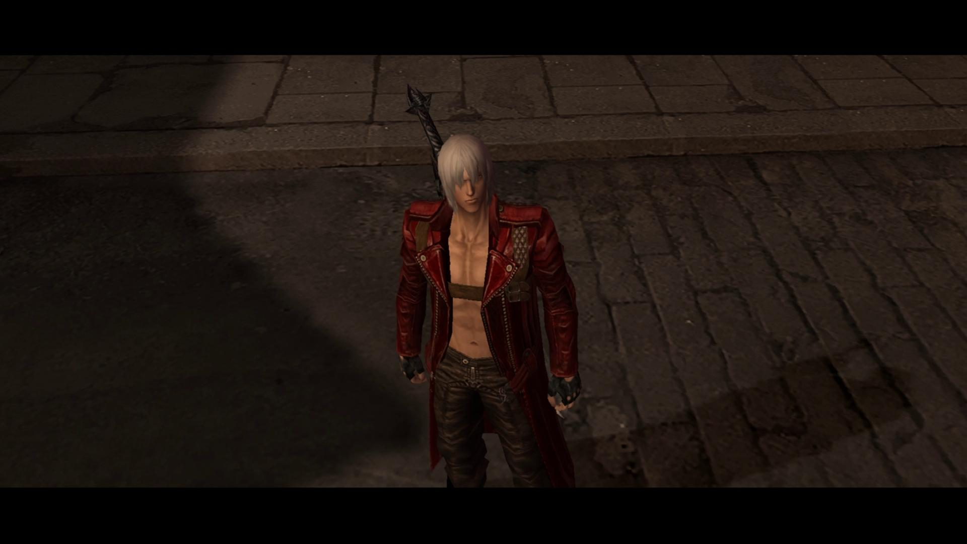 La tenue de Dante de Devil May Cry