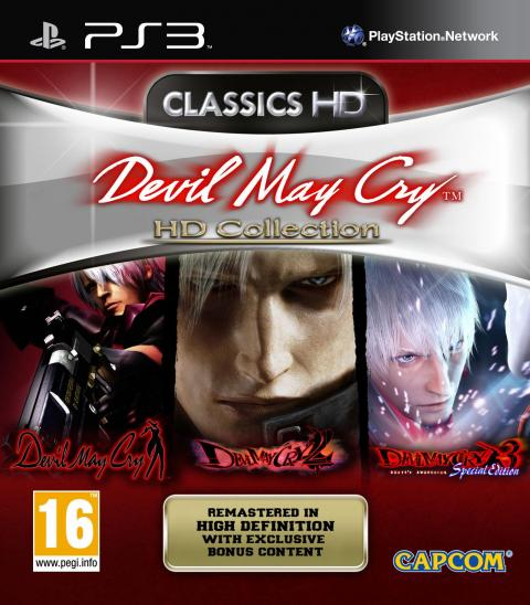 Jaquette Devil May Cry : HD Collection