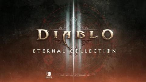Diablo III Eternal Collection daté sur Switch