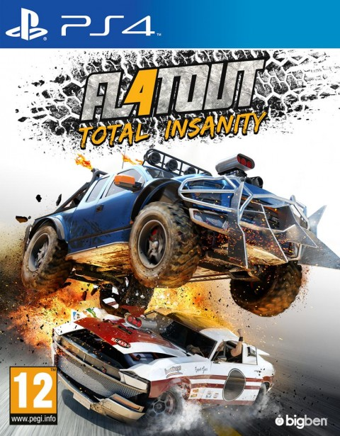 Jaquette FlatOut 4 : Total Insanity