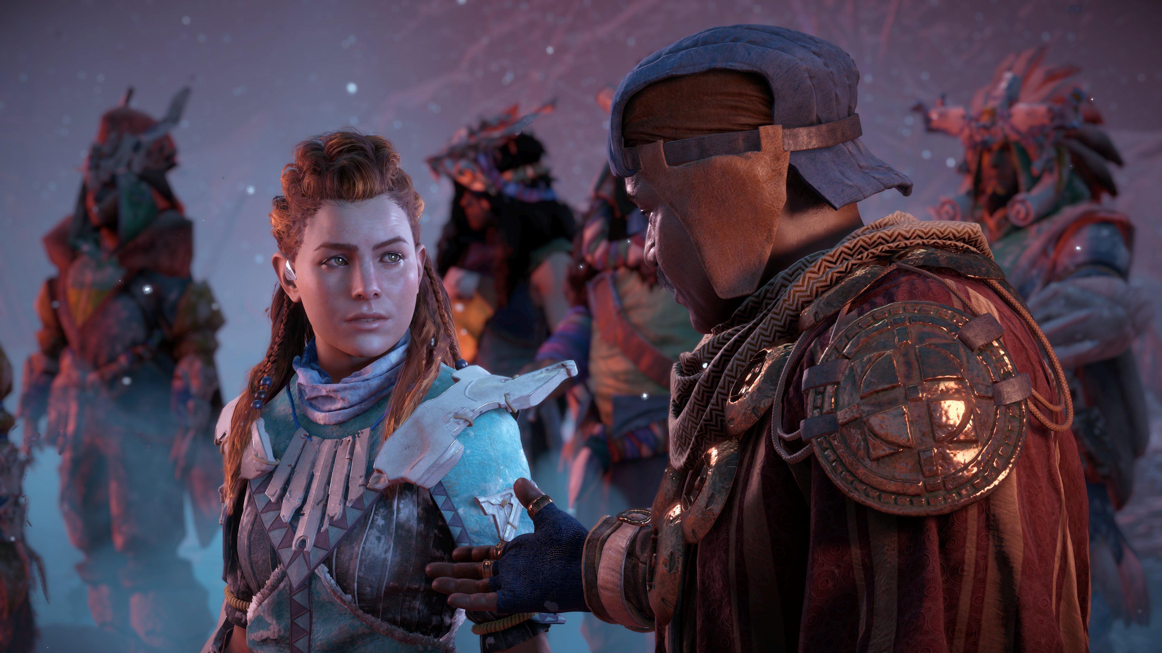 Horizon Zero Dawn: The Frozen Wilds se montre dans une nouvelle vidéo