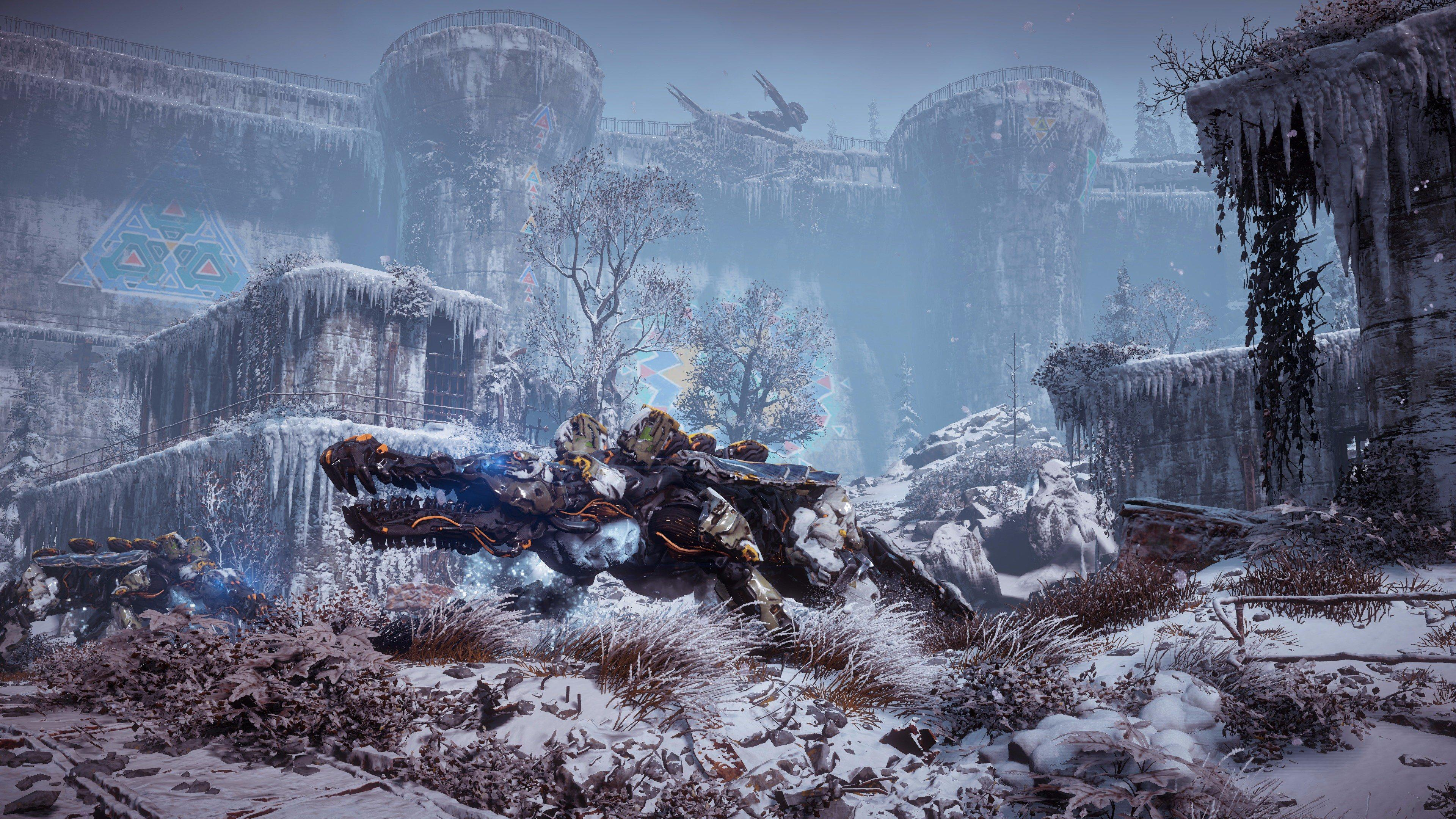 Horizon : Zero Dawn 'The Frozen Wilds' s'offre une vidéo de gameplay