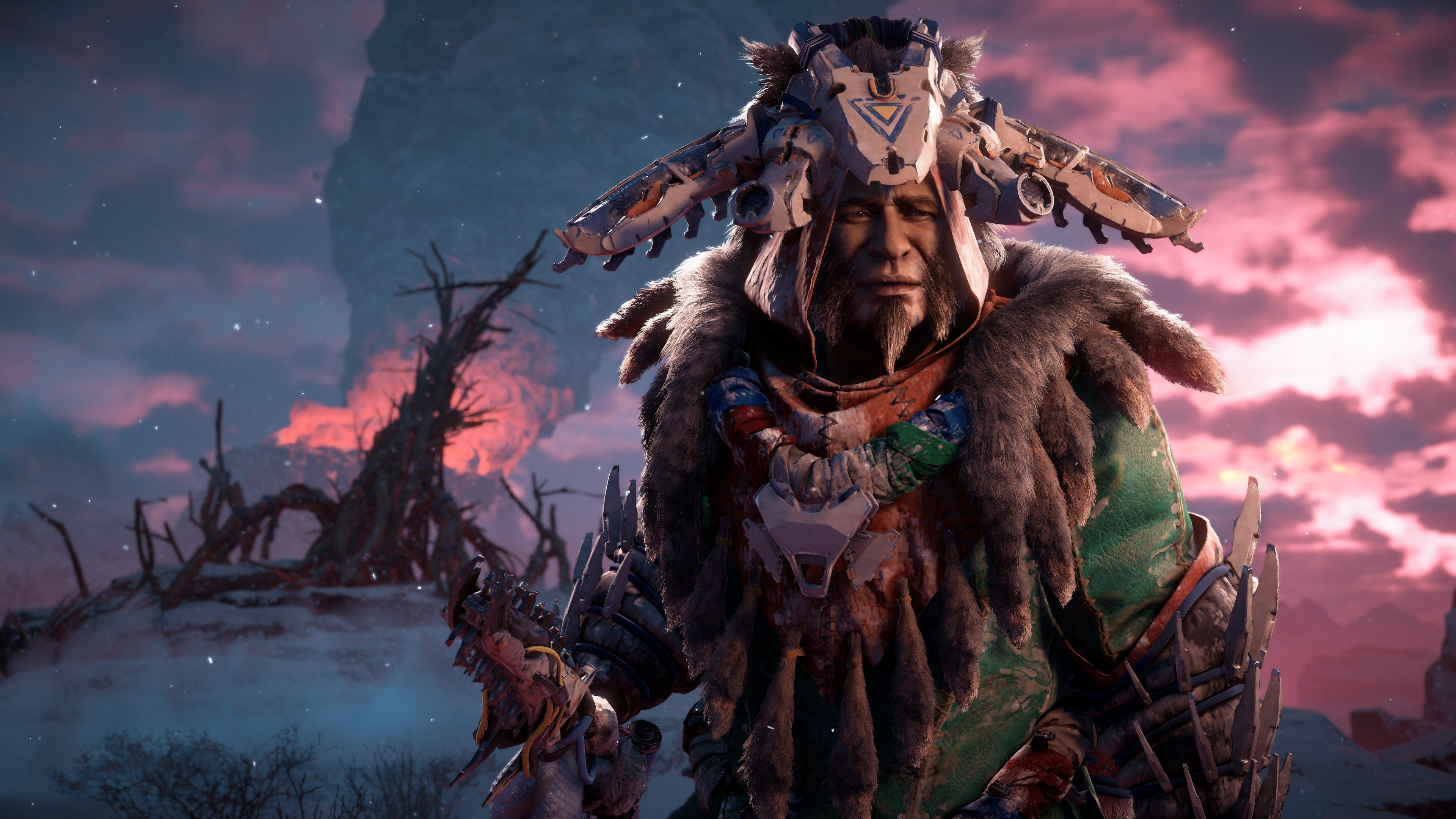 Zero Dawn 'The Frozen Wilds' s'offre une vidéo de gameplay — Horizon