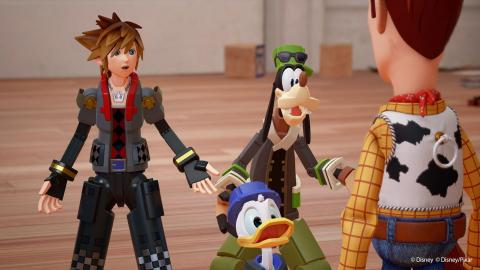 Kingdom Hearts III : Bande-annonce Le combat Final