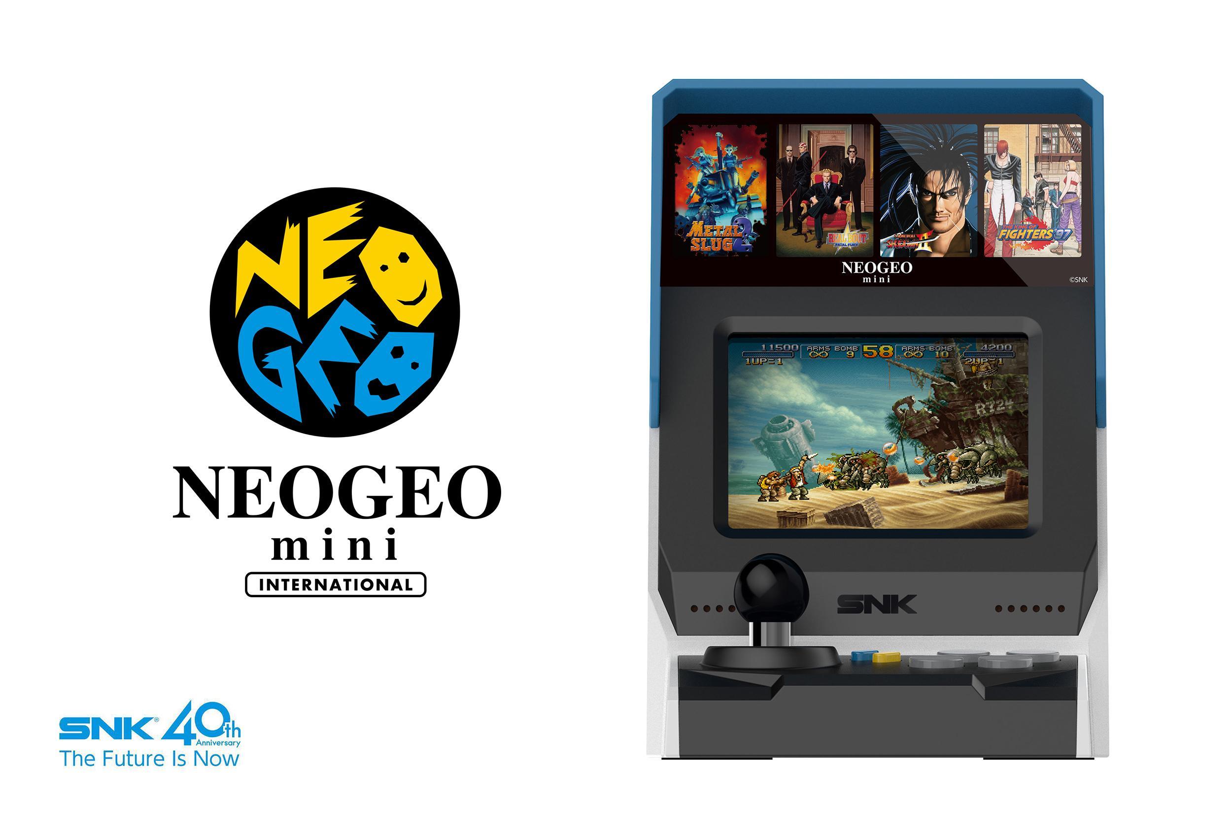 Neo geo mini: c'est officiel !