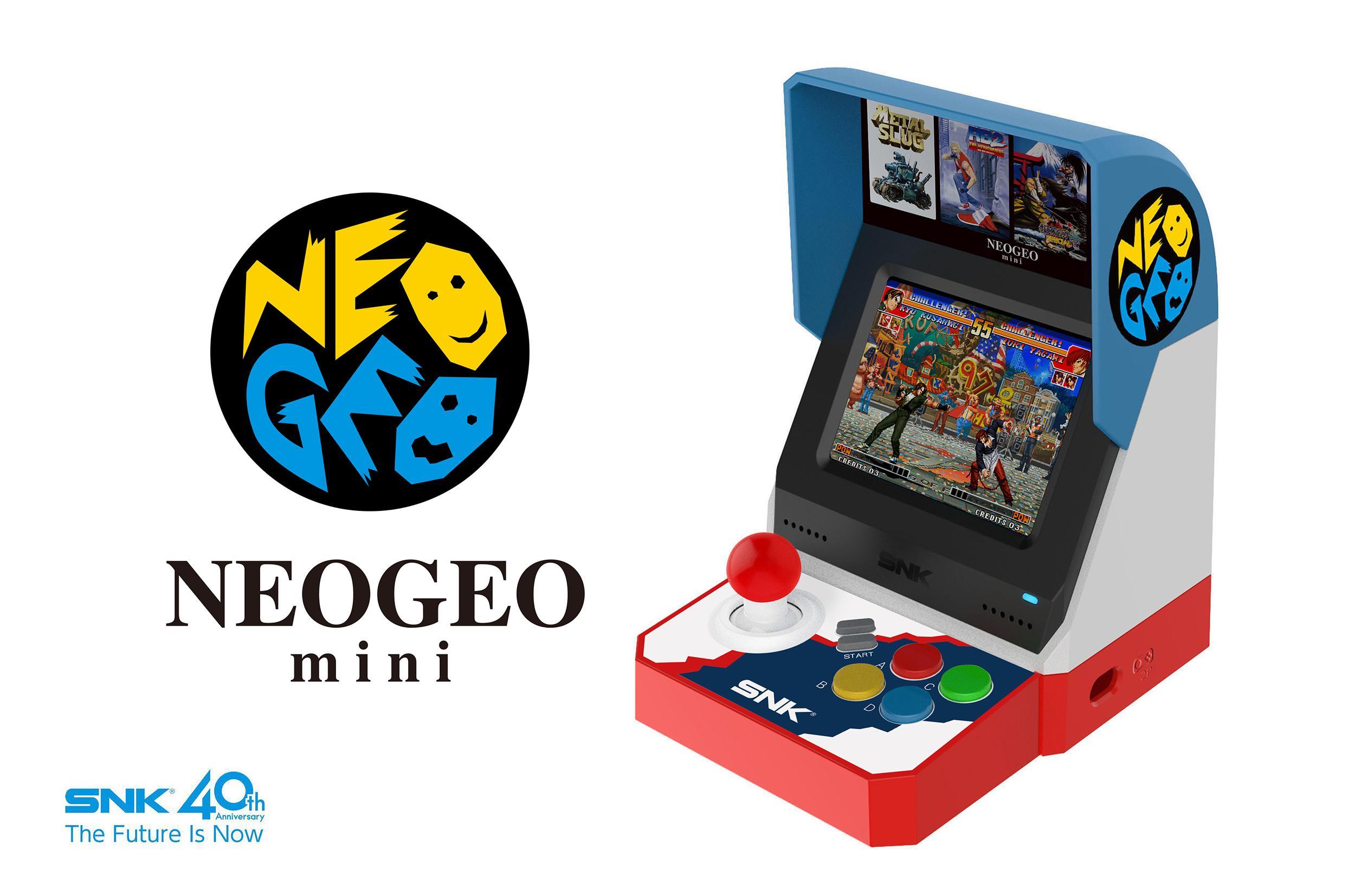La petite borne nostalgique de SNK — Neo Geo Mini
