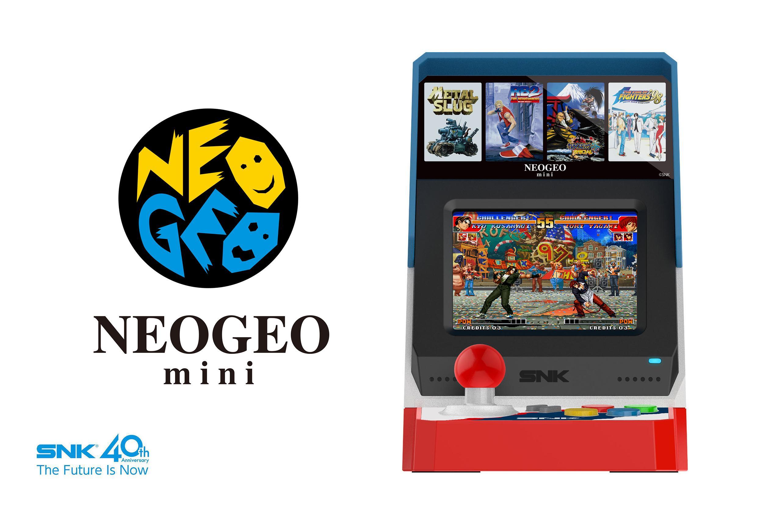 Quelques détails sur la Neo Geo Mini