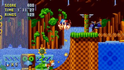 Green Hill Zone Act 2 Raw Gameplay