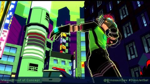 Jet Set Radio Evolution : concept video (prototype)